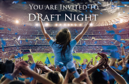 You are invited to Draft Night