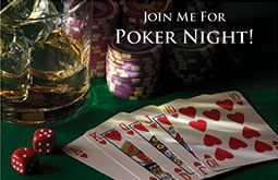 Join me for Poker Night